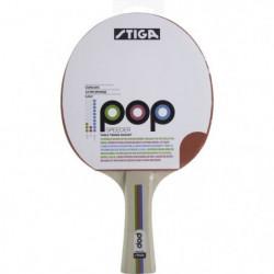 STIGA Raquette de tennis de table Pop speeder - Rouge et noi