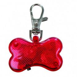 TRIXIE Flasher 4,5 × 3 cm rouge pour chien
