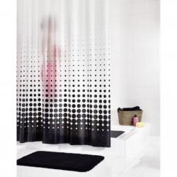 RIDDER Rideaux de douche en plastique - Blacky