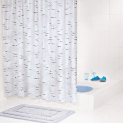RIDDER Rideaux de douche en plastique - Sylt