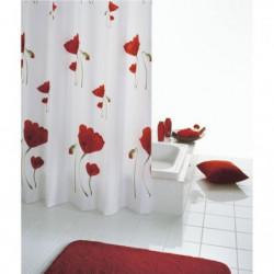 RIDDER Rideaux de douche textile - Mohn