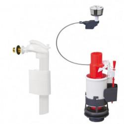 WIRQUIN Mécanisme de WC MW² - Economiseur d'eau a câble doub