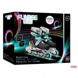 FUNBEE Rollers en ligne T1 avec flashing wheels