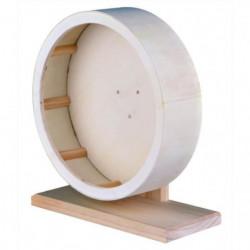 TRIXIE Roue en bois, ø 22 cm pour rongeur