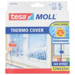 TESA Film de survitrage Thermo Cover 1.70 m x 1.50 m - Trans