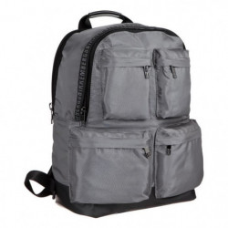 BIKKEMBERGS Sac a Dos DB-TAPE D0603 Gris Homme