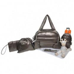 Baby on board - Sac a langer -Doudoune bag metallique - sac