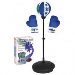 CDTS Punching ball avec gants et base lestable - 39 cm