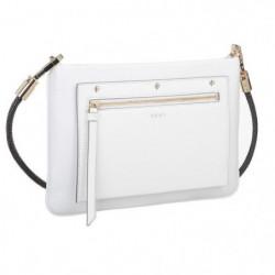DKNY Sac petit crosse R171370204 NAPPA BUNGEE Blanc Femme