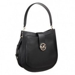 MICHAEL KORS Sac a Bandouliere LILLIE 30F8G0LM3T LG HOBO Noi