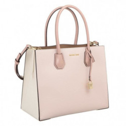 MICHAEL KORS Sac a main MERCER 30S7GM9T3L LG CONV TOTE ROSE
