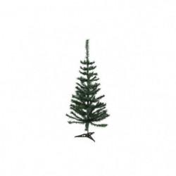 Sapin de Noël artificiel - H 150 cm - 200 branches - Vert co