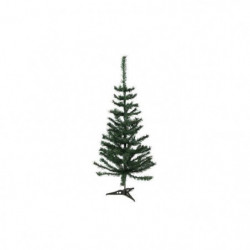 Sapin de Noël artificiel - H 90 cm - 72 branches - Vert colo