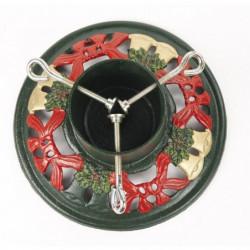 Pied de sapin de Noël mulitoclore Ø28cm