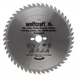WOLFCRAFT Lame scie table CT 48 dents - Ø315x30x3.2mm