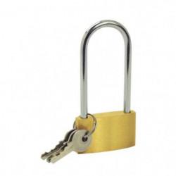 COGEX Cadenas en laiton 40mm anse longue + 2 clés