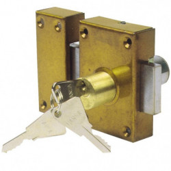 Verrou de sécurité double entrée COGEX 3 clés