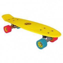 NIJDAM Mini Skateboard Cruiser - Jaune