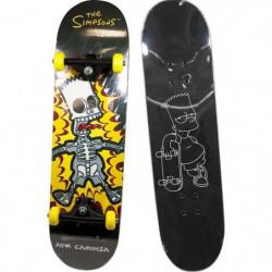 BART SIMPSON Skateboard d'Apprentissage