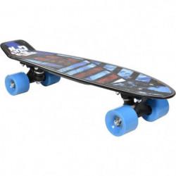 """FREEGUN Skateboard Vintage 22,5"""" Design Surf - Enfant mixte"""
