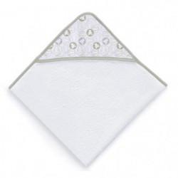 LULU CASTAGNETTE Sortie de bain Coton Brodée All Lulu 100x10