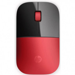 HP Souris Wireless Z3700 V0L82AA - Rouge cardinal