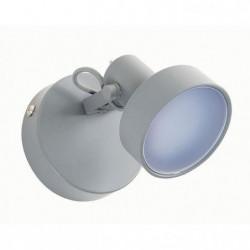 STOCKHOLM Spot 1 lumiere LED - L 9,5 x H 10 cm - Gris ciment