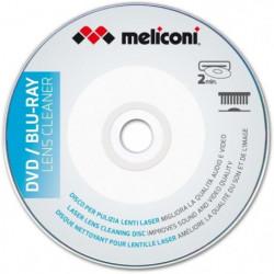 MELICONI Disque nettoyant pour lecteur DVD et Blu Ray