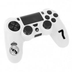 Kit e-sport Real Madrid N°7 - Blanc - Pour manette PS4