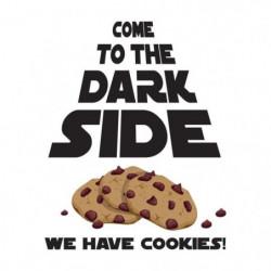 Stickers adhésif mural Cookies star war - 30x38cm