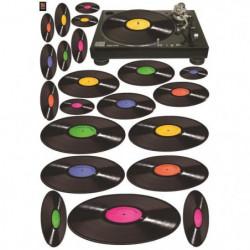 PLAGE Sticker déco - Vinyl attack 1 Planche 70x100 cm