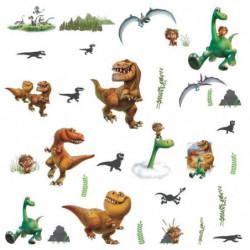 ROOMMATES Lot de 32 stickers LE VOYAGE D'ARLO repositionnabl