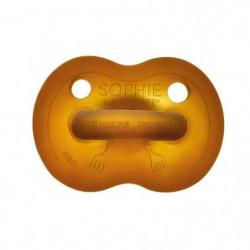 SOPHIE LA GIRAFE Sucette caoutchouc So'Pure - 6 - 18 mois