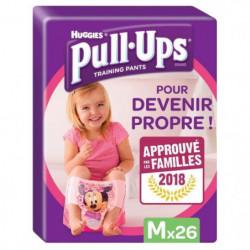 HUGGIES Pull Ups Minnie Taille 5 M 11-18Kg - 26 culottes d'a