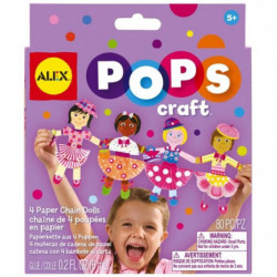 ALEX La guirlande de 4 poupées - En papier - A partir de 5 a