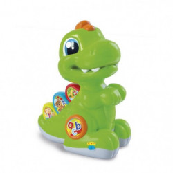 CLEMENTONI Baby - Baby T-rex vert avec détecteur - Jeu d'éve