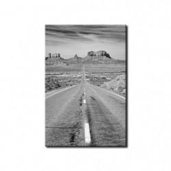 Tableau imprimé 50x80cm - Noir 86663