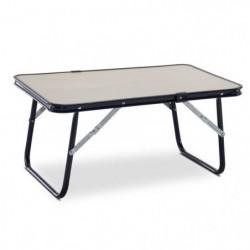 EREDU Table Basse Pliante 810/D - 60 x 40 cm - Marron clair