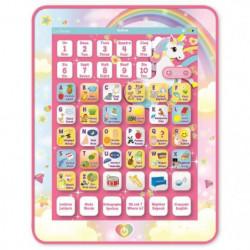 LEXIBOOK - Tablette Educative & Bilingue Licorne - Français,