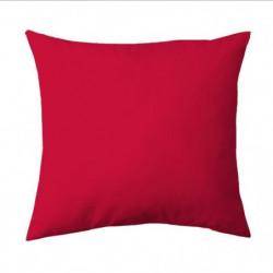COTE DECO Taie d'Oreiller 63x63 cm - Rouge