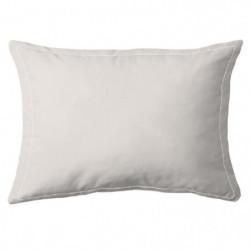 COTE DECO Taie d'Oreiller 100% coton 50x70 cm - Beige ficell