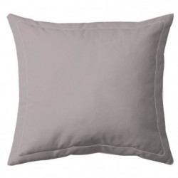 COTE DECO Taie d'oreiller 100% percale de coton - 63x63 cm -