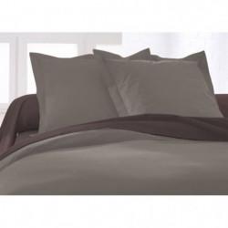 TODAY Taie d'oreiller 100% coton - 75x75 cm - Mastic