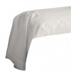 COTE DECO Taie de Traversin 100% coton 85x185 cm - Beige fic