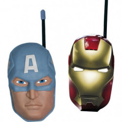 AVENGERS Talkie-walkie (Iron Man et Captain America)