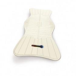 Tapis de bain AIRGO NL-785-530 - Avec guide de température -