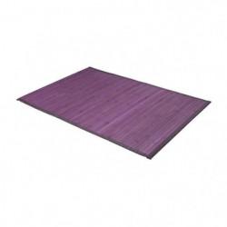 FRANDIS Tapis de bain - Bambou - 50 x 80 cm - Violet