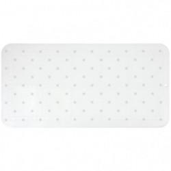 GELCO DESIGN Tapis antidérapant - 35x70 cm - Motif pois - Bl