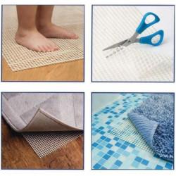 Dessous de tapis antidérapant - 142 x 228 cm - Blanc découpa