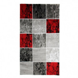 SUBWAY CUBE Tapis de salon en polypropylene - 80x150 cm - Ro